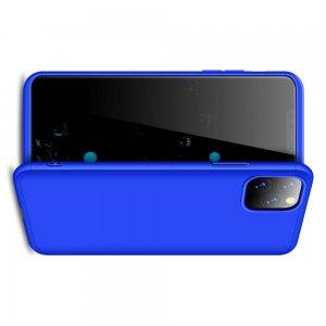 GKK 360 Пластиковый чехол с защитой дисплея для iPhone 11 Pro Синий