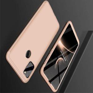 GKK 360 Пластиковый чехол с защитой дисплея для Samsung Galaxy M30s Золотой