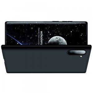 GKK 360 Пластиковый чехол с защитой дисплея для Samsung Galaxy Note 10 Черный