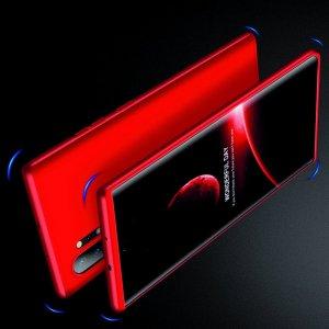 GKK 360 Пластиковый чехол с защитой дисплея для Samsung Galaxy Note 10 Plus / 10+ Красный