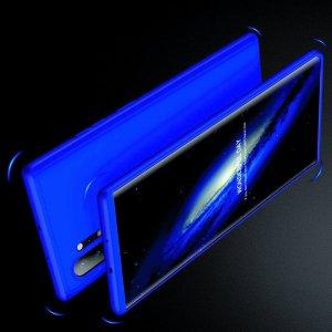 GKK 360 Пластиковый чехол с защитой дисплея для Samsung Galaxy Note 10 Plus / 10+ Синий