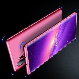 GKK 360 Пластиковый чехол с защитой дисплея для Samsung Galaxy Note 10 Plus / 10+ Светло-Розовый