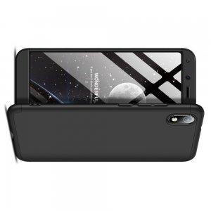 GKK 360 Пластиковый чехол с защитой дисплея для Xiaomi Redmi 7A Черный