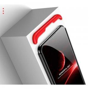 GKK 360 Пластиковый чехол с защитой дисплея для Xiaomi Redmi 8 Черный