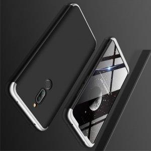GKK 360 Пластиковый чехол с защитой дисплея для Xiaomi Redmi 8 Серебряный