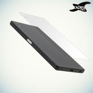 Закаленное защитное стекло на заднюю панель для Sony Xperia Z5 Premium