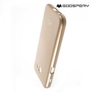Goospery Jelly силиконовый чехол для Samsung Galaxy A5 2017 SM-A520F - Золотой