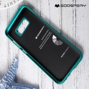 Goospery Jelly силиконовый чехол для Samsung Galaxy S8 - Зеленый