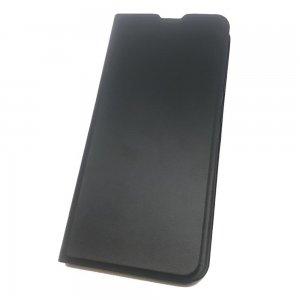 Горизонтальный чехол книжка для Samsung Galaxy A51 - Черный