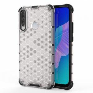 Honeycomb противоударный матовый чехол для Huawei P40 lite E - Белый