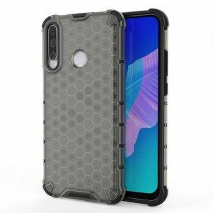 Honeycomb противоударный матовый чехол для Huawei P40 lite E - Черный