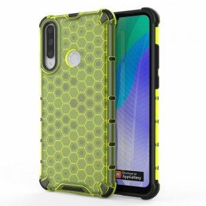 Honeycomb противоударный матовый чехол для Huawei Y6p - Зеленый