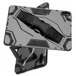 Hybrid Armor Ударопрочный чехол для Huawei MatePad 10.4 / Honor Pad V6 с подставкой - Черный