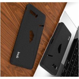 IMAK Cowboy Пластиковый чехол с кольцом подставкой и защитной пленкой для Asus ROG Phone 2 - Черный