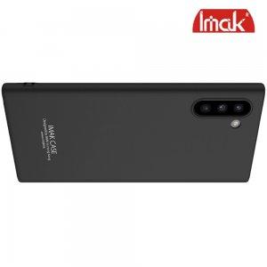 IMAK Cowboy Пластиковый чехол с кольцом подставкой и защитной пленкой для Samsung Galaxy Note 10 - Черный