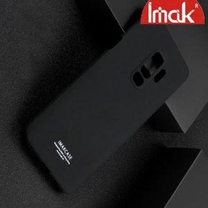 IMAK Cowboy Пластиковый чехол с кольцом подставкой для Samsung Galaxy S9 Plus - Черный