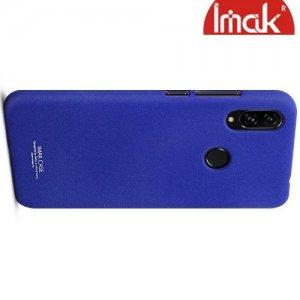 IMAK Cowboy Пластиковый чехол с защитной пленкой для Xiaomi Redmi Note 7 / Note 7 Pro - Синий