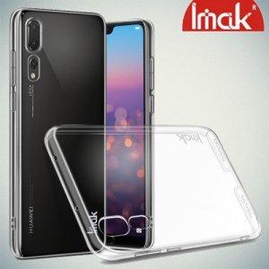 IMAK Crystal Прозрачный пластиковый кейс накладка для Huawei P20 Pro