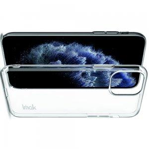 IMAK Crystal Прозрачный пластиковый кейс накладка для iPhone 11 Pro Max