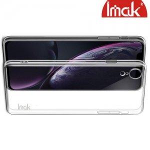 IMAK Crystal Прозрачный пластиковый кейс накладка для iPhone XR