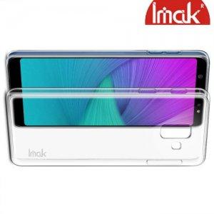 IMAK Crystal Прозрачный пластиковый кейс накладка для Samsung Galaxy A6 Plus 2018