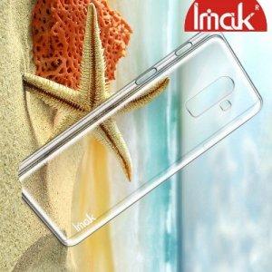 IMAK Crystal Прозрачный пластиковый кейс накладка для Samsung Galaxy J8 2018