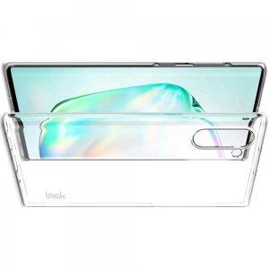 IMAK Crystal Прозрачный пластиковый кейс накладка для Samsung Galaxy Note 10