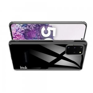 IMAK Crystal Прозрачный пластиковый кейс накладка для Samsung Galaxy S20 Plus