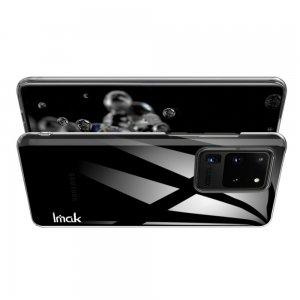 IMAK Crystal Прозрачный пластиковый кейс накладка для Samsung Galaxy S20 Ultra