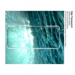 IMAK Crystal Прозрачный пластиковый кейс накладка для Sony Xperia 1 II