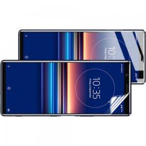 IMAK силиконовая гидрогель пленка для Sony Xperia 5 на весь экран