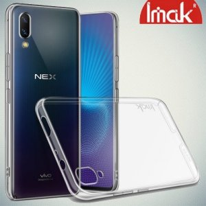 IMAK Crystal Прозрачный пластиковый кейс накладка для Vivo NEX S