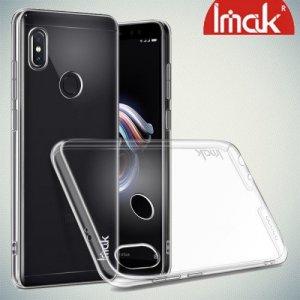 IMAK Crystal Прозрачный пластиковый кейс накладка для Xiaomi Redmi Note 5 / 5 Pro