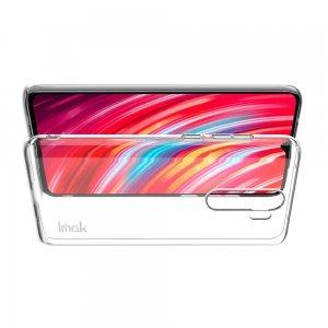 IMAK Crystal Прозрачный пластиковый кейс накладка для Xiaomi Redmi Note 8 Pro