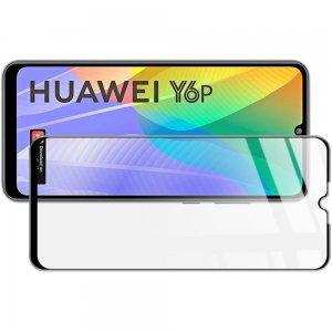 Imak Full Screen Защитное стекло для Huawei Y6p черное