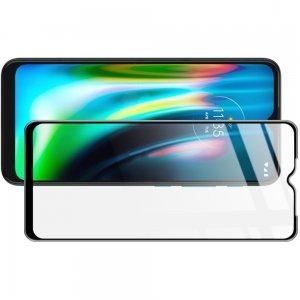 Imak Full Screen Защитное стекло для Motorola Moto G9 Play / Moto E7 Plus черное