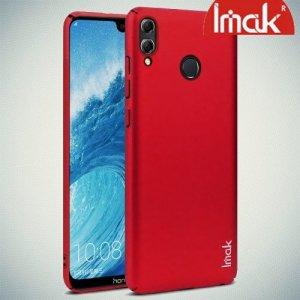Imak Jazz Матовая пластиковая Кейс накладка для Huawei Honor 8X Красный + Защитная пленка