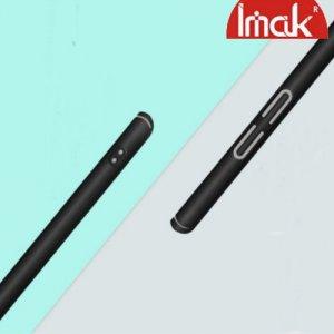 Imak Jazz Матовая пластиковая Кейс накладка для LG G7 ThinQ Черный + Защитная пленка
