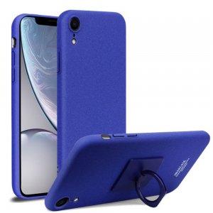Imak Матовая пластиковая Кейс накладка для iPhone XR Синий Ультратонкий с защитной кнопок и камеры