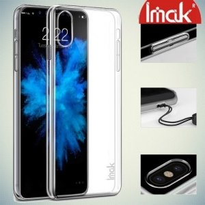 IMAK Пластиковый прозрачный чехол для iPhone Xs / X