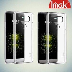 IMAK Пластиковый прозрачный чехол для LG G6 H870DS