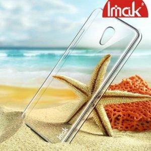IMAK Пластиковый прозрачный чехол для Meizu M5 Note