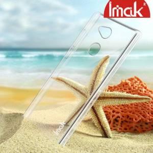 IMAK Пластиковый прозрачный чехол для Sony Xperia L2