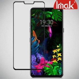 Imak Pro+ Full Glue Cover Защитное с полным клеем стекло для LG G8 ThinQ черное