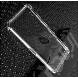 IMAK Shockproof силиконовый защитный чехол для Asus ROG Phone 2 прозрачный и защитная пленка
