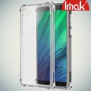 IMAK Shockproof силиконовый защитный чехол для HTC Desire 12 прозрачный и защитная пленка