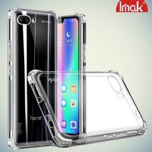 IMAK Shockproof силиконовый защитный чехол для Huawei Honor 10 - прозрачный