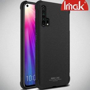 IMAK Shockproof силиконовый защитный чехол для Huawei Honor 20 Pro песочно-черный и защитная пленка