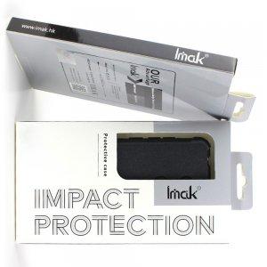 IMAK Shockproof силиконовый защитный чехол для Huawei Honor 9X / 9X Pro черный и защитная пленка