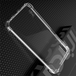 IMAK Shockproof силиконовый защитный чехол для Huawei Honor 9X / 9X Premium прозрачный и защитная пленка